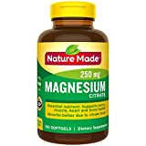 5. Nature Made Magnesium Citrate Softgels