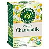 1. Traditional Medicinal Organic Chamomile Herbal Tea