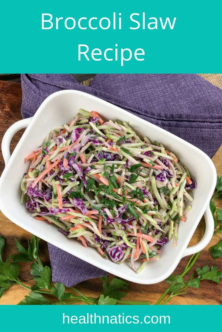 Super Easy Crisp & Crunchy Broccoli Slaw Recipe