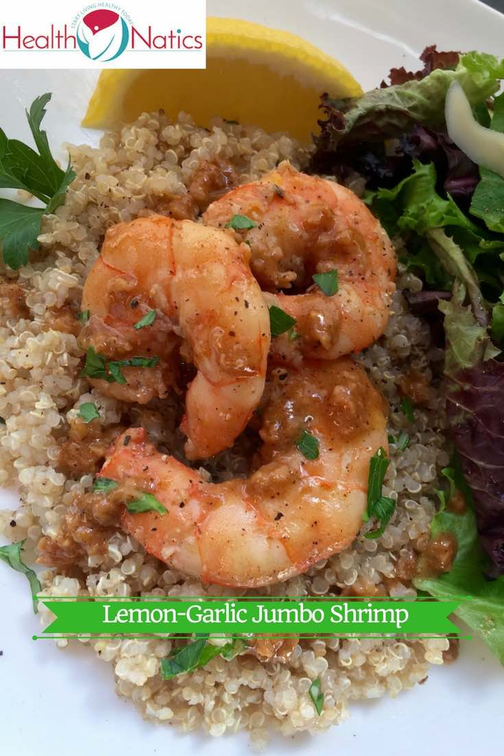 Lemon-Garlic Jumbo Shrimp Recipe