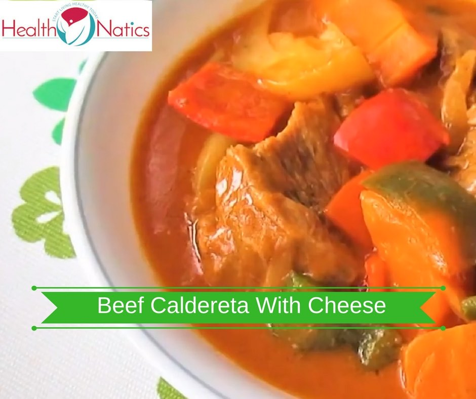 How To Cook Beef Caldereta With Cheese