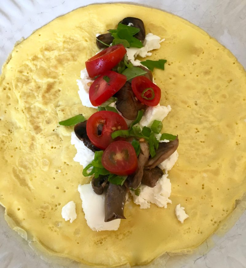"""Sweet or Savory Gluten Free """"Crepes"""""""