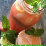 Fresh Watermelon Lemonade Recipe With Mint