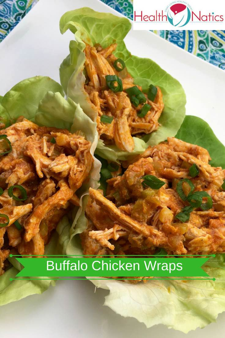 Buffalo Chicken Wraps in Lettuce Recipe