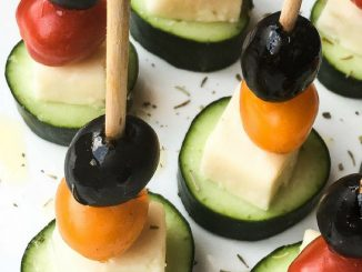 Greek Salad Skewers Recipe