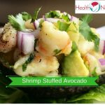 Pineapple-Shrimp Stuffed Avocado Recipe