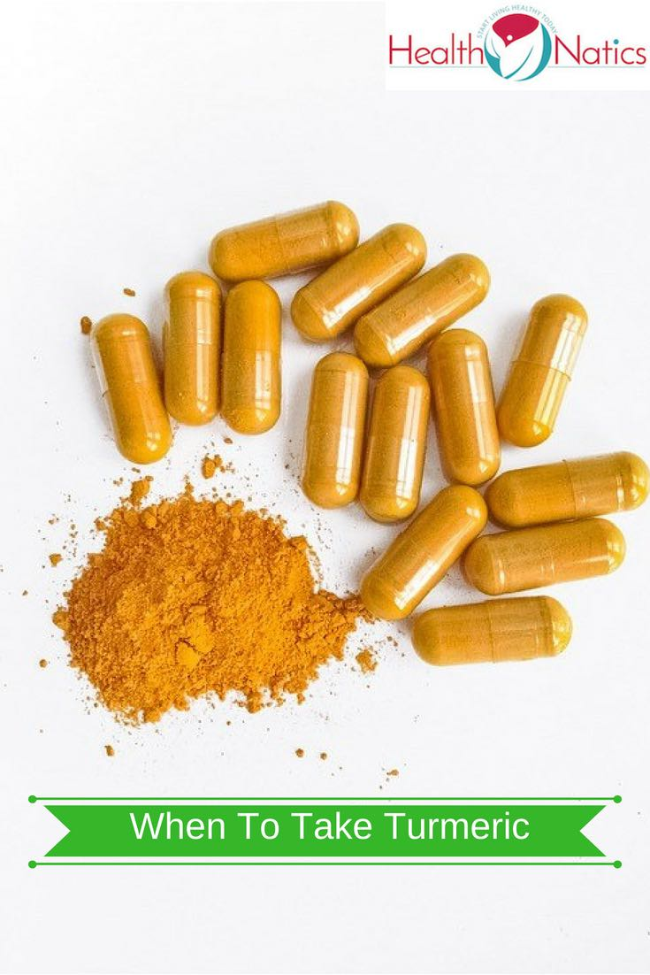 When To Take Turmeric Pills And Capsules?