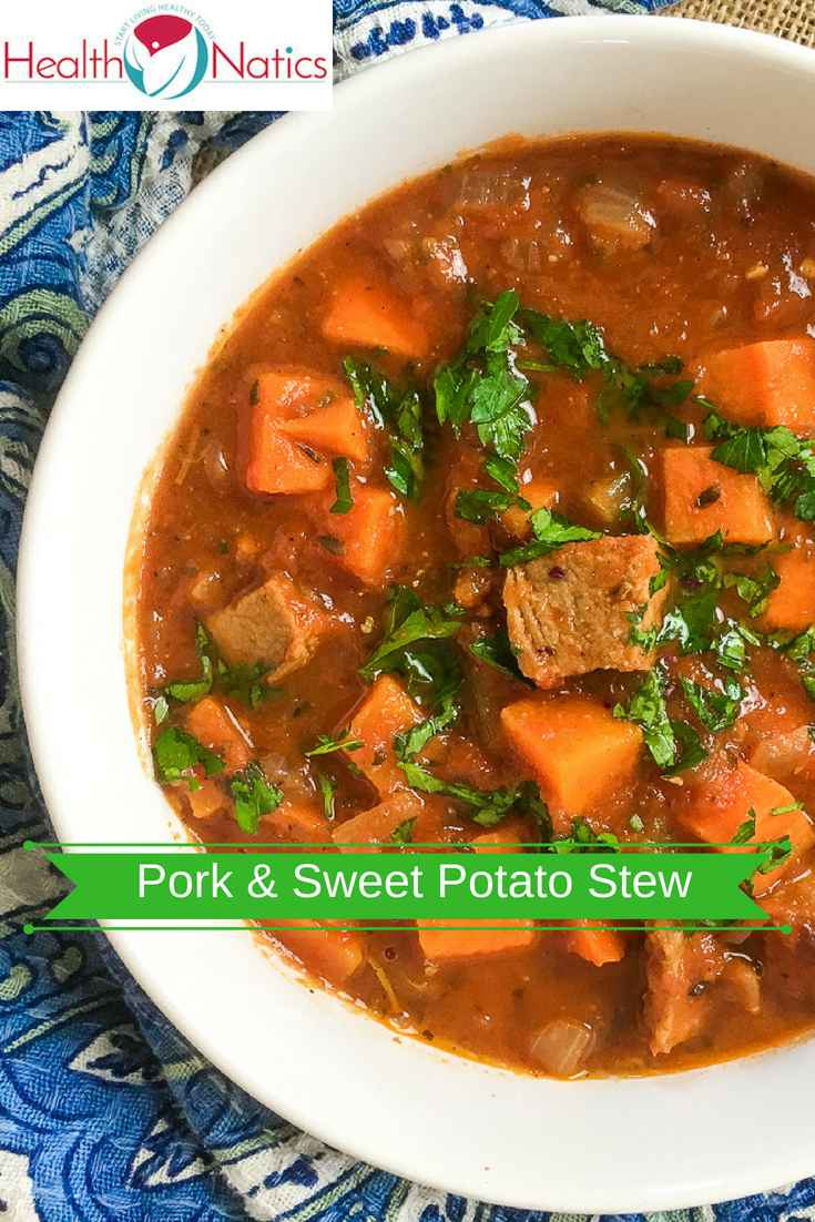 One Pot Spicy Pork and Sweet Potato Stew
