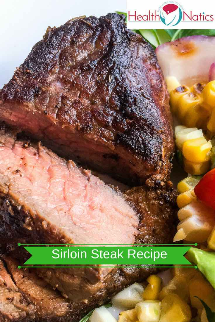 Herb Mustard Sirloin Steak Recipe