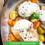 One-Skillet Chicken Mozzarella Recipe