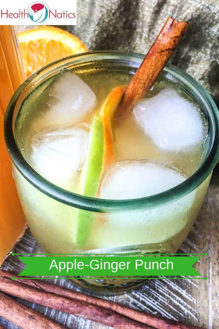 Sparkling Apple-Ginger Punch