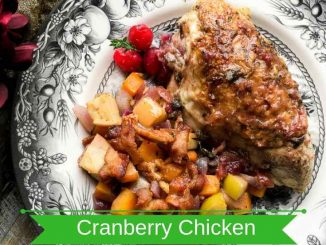 Orange-Cranberry Chicken Breasts Recipe