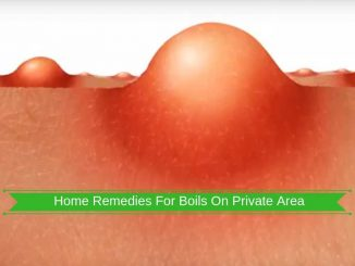 how to get rid of boils on private area