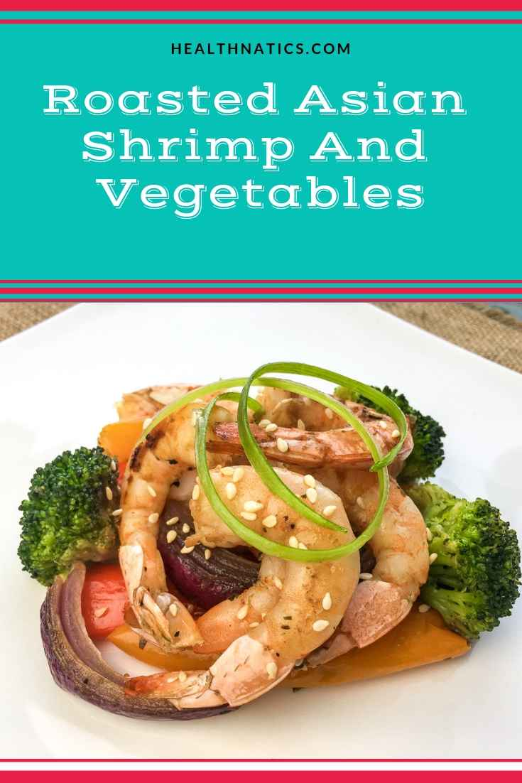 Roasted Asian Shrimp And Vegetables