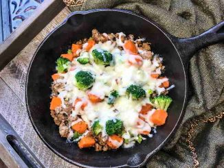 Turkey and Sweet Potato Skillet